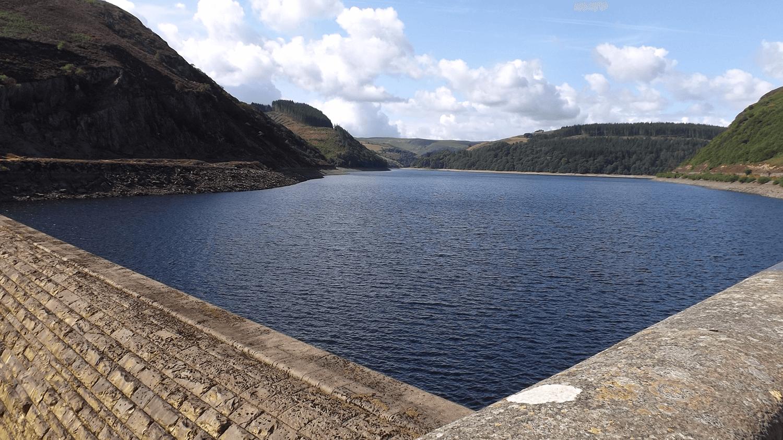 Caban Coch Dam near Pontypool